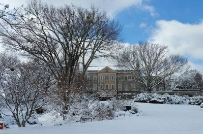 Cheekwood Mansion in Winter