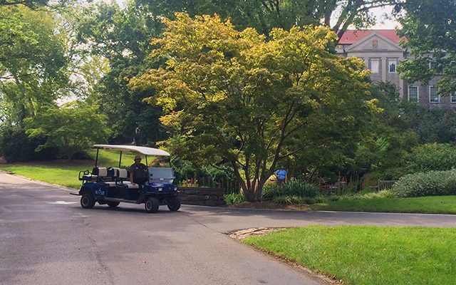 Accessibility Shuttle at Cheekwood