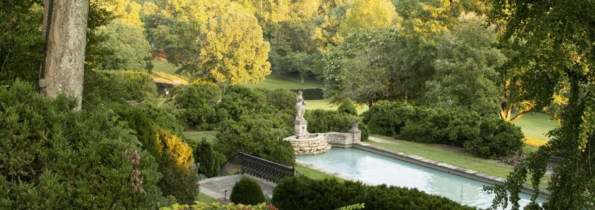 Martin Boxwood Garden Reflecting Pool at Cheekwood Estate & Gardens