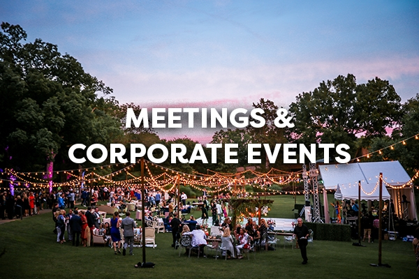 meetings and corporate events