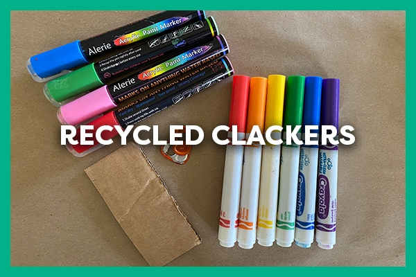 Recycled Clackers