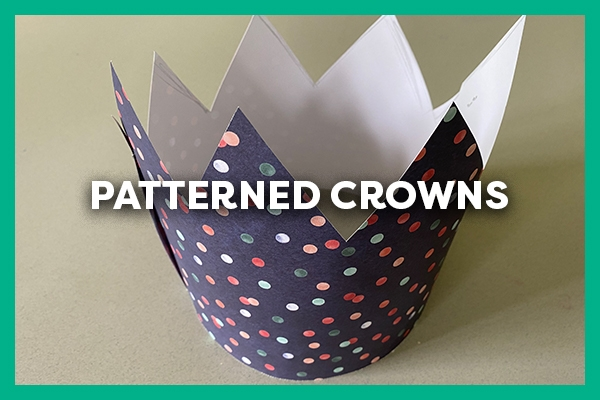 patterned crowns
